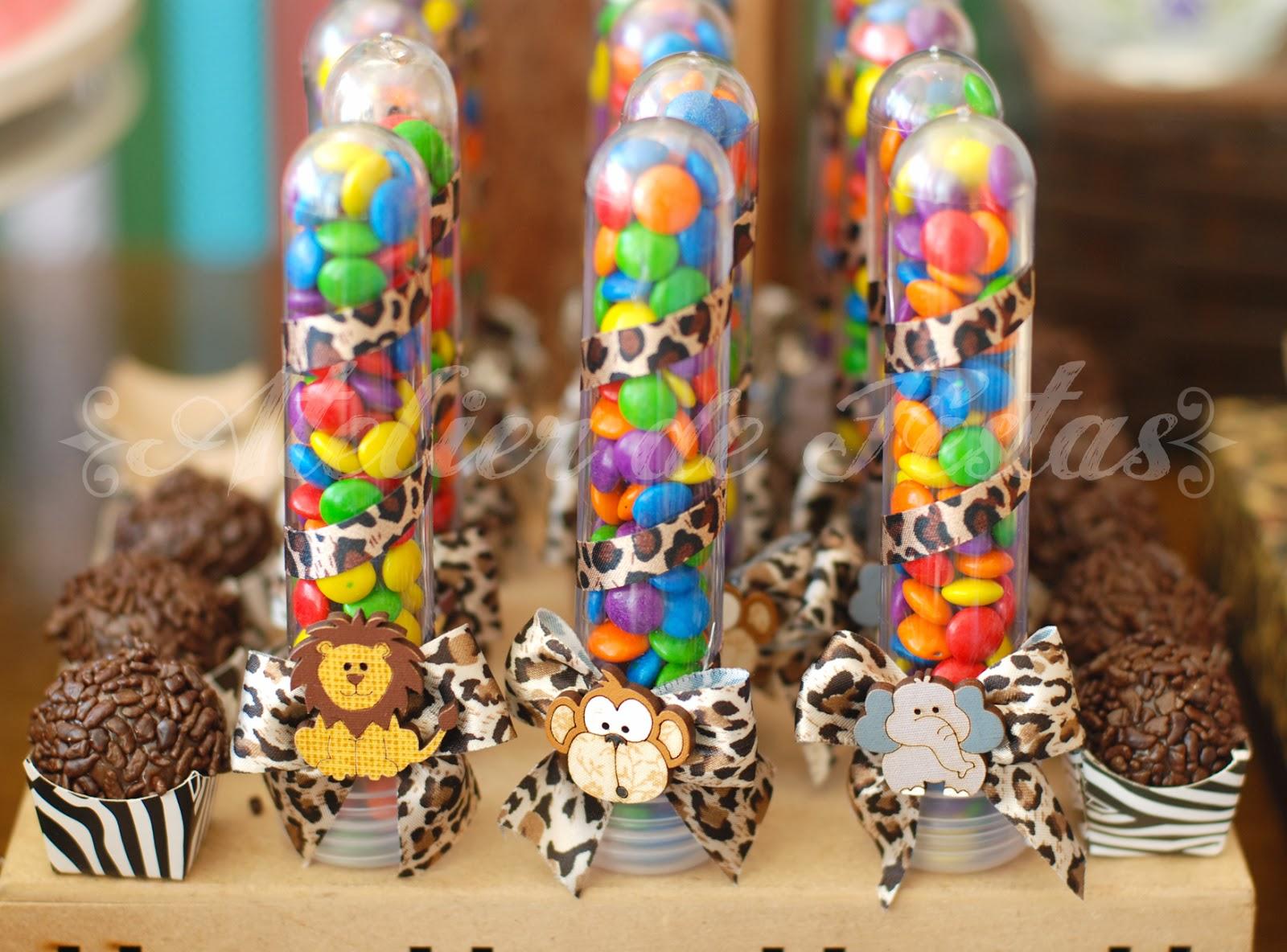 Bolsa De Festa De Aniversario : Atelier de festas festa safari menina sofia