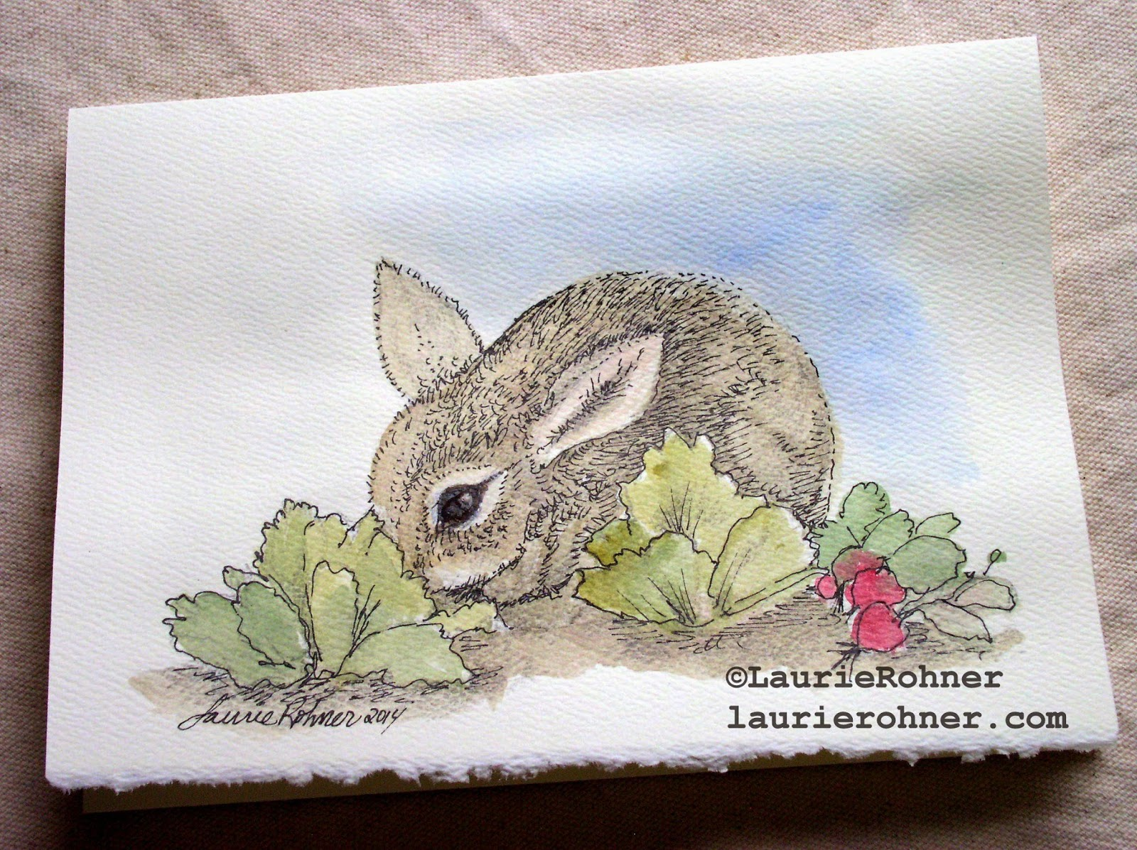 Laurie Rohner Studio watercolor nature art cards