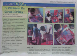 KIDS' ART ON SUNDAY VANGUARD NEWSPAPER