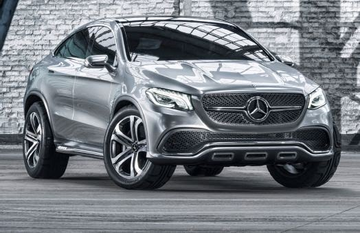 """It's been almost a decade since Mercedes-Benz introduced the CLS, a car it called the """"four-door coupe"""". The idea has been followed by many automakers, including BMW, which applied it to its X6 crossover. It took a while, but Benz is finally putting the X6 on alert with its Concept Coupe SUV, set to debut at the Beijing Motor Show. Benz already has a varied lineup of crossovers, but the Concept Coupe SUV, rumored to be named MLC once it reaches production, will offer customers what is essentially a stylish version of the ML. The concept's dimensions solidify its sporty and coupe-like appearance. With an overall length of 194.3 inches, the concept is 5.2 inches longer than the ML. The concept is also about 2 inches wider, but 2 inches shorter than the ML, which could translate to a bit more hip and shoulder room, but will likely rob a bit of the headroom for rear passengers. Reduced headroom and cargo space are a few sacrifices required to achieve the concept's swoopy roofline that drops past the B-pillar, before ending at the edge of the liftgate. The concept's roofline and most of its styling elements will likely carry over to the production version. Up front, a large grille dominates the fascia, which houses the large three-pointed star logo flanked by a single chrome bar. The upper and lower grille is filled with rectangular cubes that appear to float, while the headlamp units house the full-LED Multibeam lighting system. Sharp creases are used for the hood and the side profile, which also showcases flared wheel arches and a high beltline. In addition to its massive 22-inch, five-spoke wheels, the concept's lower edges are finished with nice touches that include a unning-board, front skid-plate, and rear diffuser that also frames the dual exhaust tips. The concept's recessed door handles and metallic side-view mirrors, while cool, will likely not make it to production. The concept's rear end looks nothing like Benz's current crossover lineup. In addition to its i"""