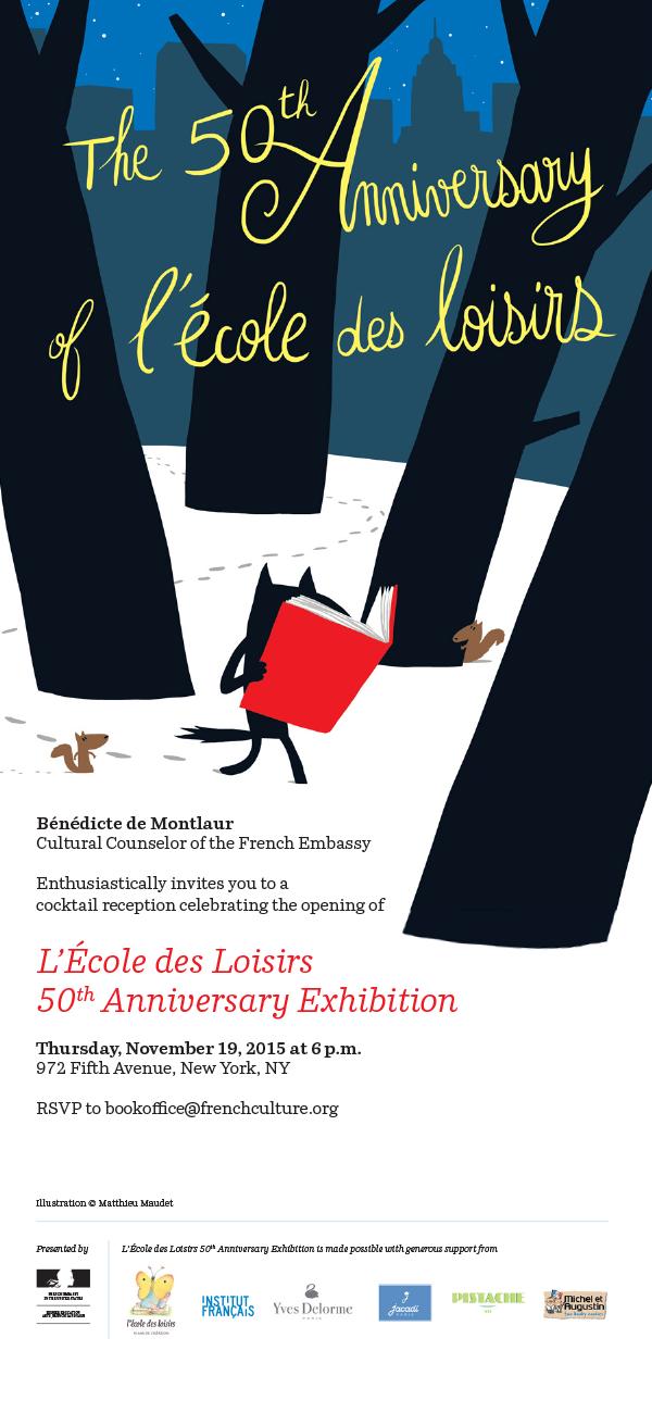 L'Ecole des Loisirs 50th Anniversary Exhibition
