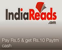 Paytm New Offer: Pay Rs 5 Get Rs 10 Indiareads