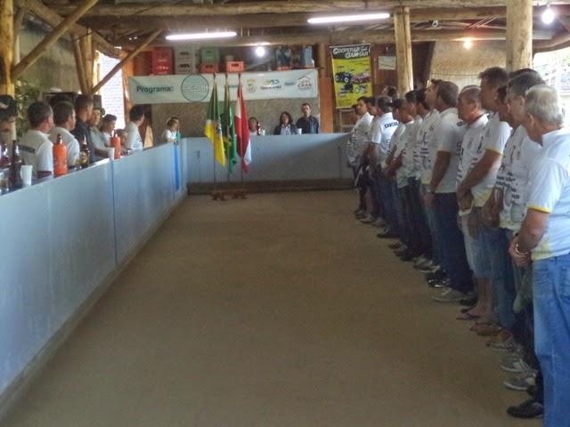 9º CAMPEONATO MUNICIPAL DE BOCHA - TAÇA CRESOL