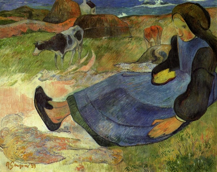 Paul Gauguin 1848-1903 - French Post-Impressionist painter
