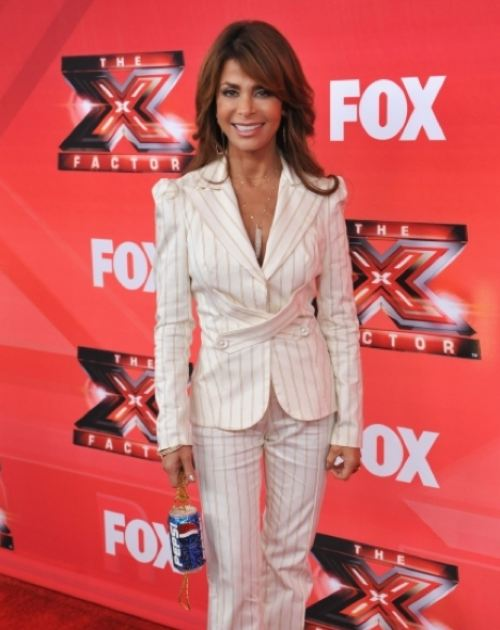 Paula Abdul wearing Men's Suit 11
