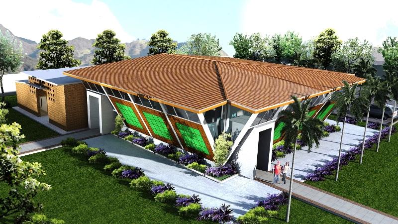 Mv renders design proyecto salon usos multiples for Salon de usos multiples programa arquitectonico