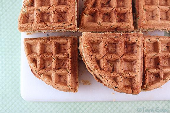 waffle, waffle recipe, national waffle day, zucchini squash, breakfast
