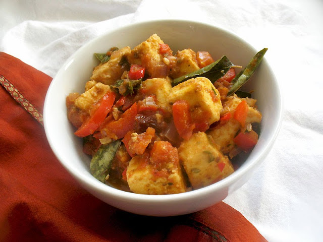 paneer thai curry