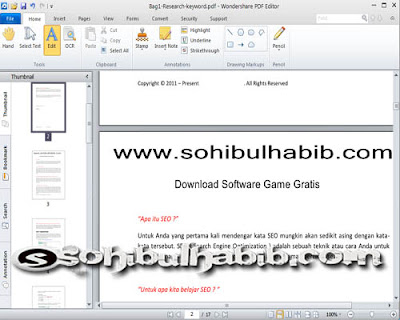 Wondershare PDF Editor 3.1.0 Full Serial