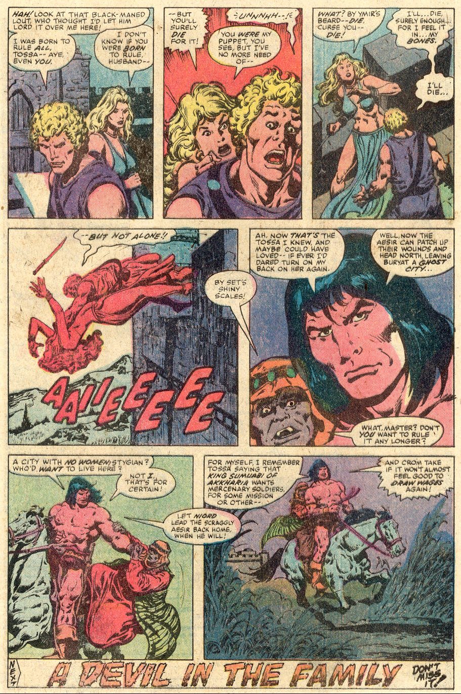 Conan the Barbarian (1970) Issue #112 #124 - English 18