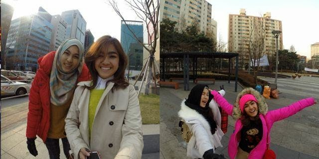 Bagasi Elfira & Esliza Loy Hilang Di Korea?