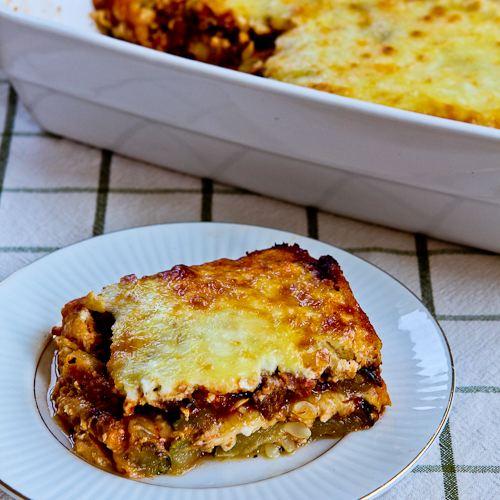 "Grilled Zucchini ""Lasagna"""