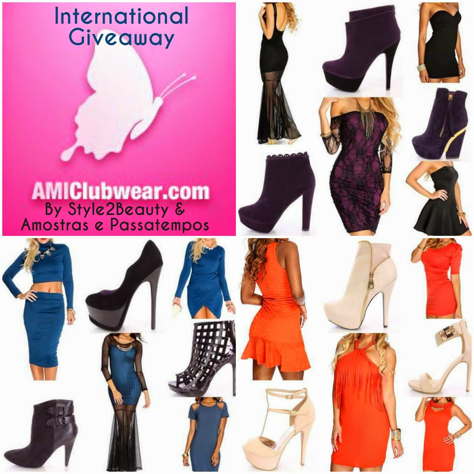 AMIClubWear International Giveaway