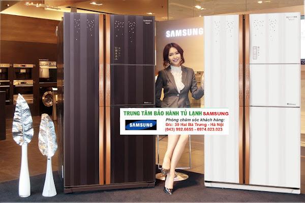 Sửa tủ lạnh Side By Side (SBS) SamSung tại Hà Nội /0967-747-055