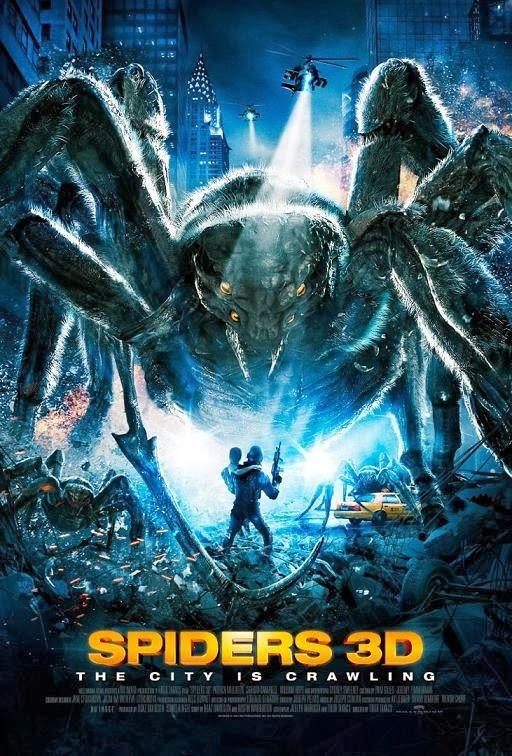 Spiders 3D Poster ฝูงแมงมุมยักษ์ถล่มโลก