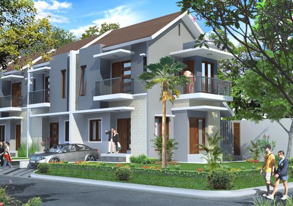 Desain Rumah Minimalis - Type Kecil 2 Lt