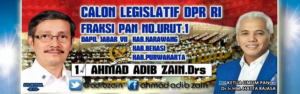 AHMAD ADIB ZAIN, Drs