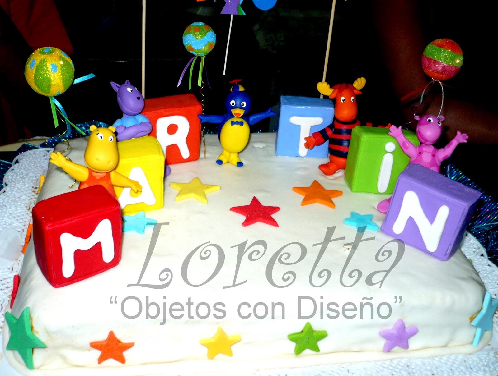 Loretta objetos con dise o decoraci n de bachyardigans - Objetos decoracion diseno ...