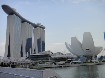 Marina Bay Sands and Art Science Museum Singapore
