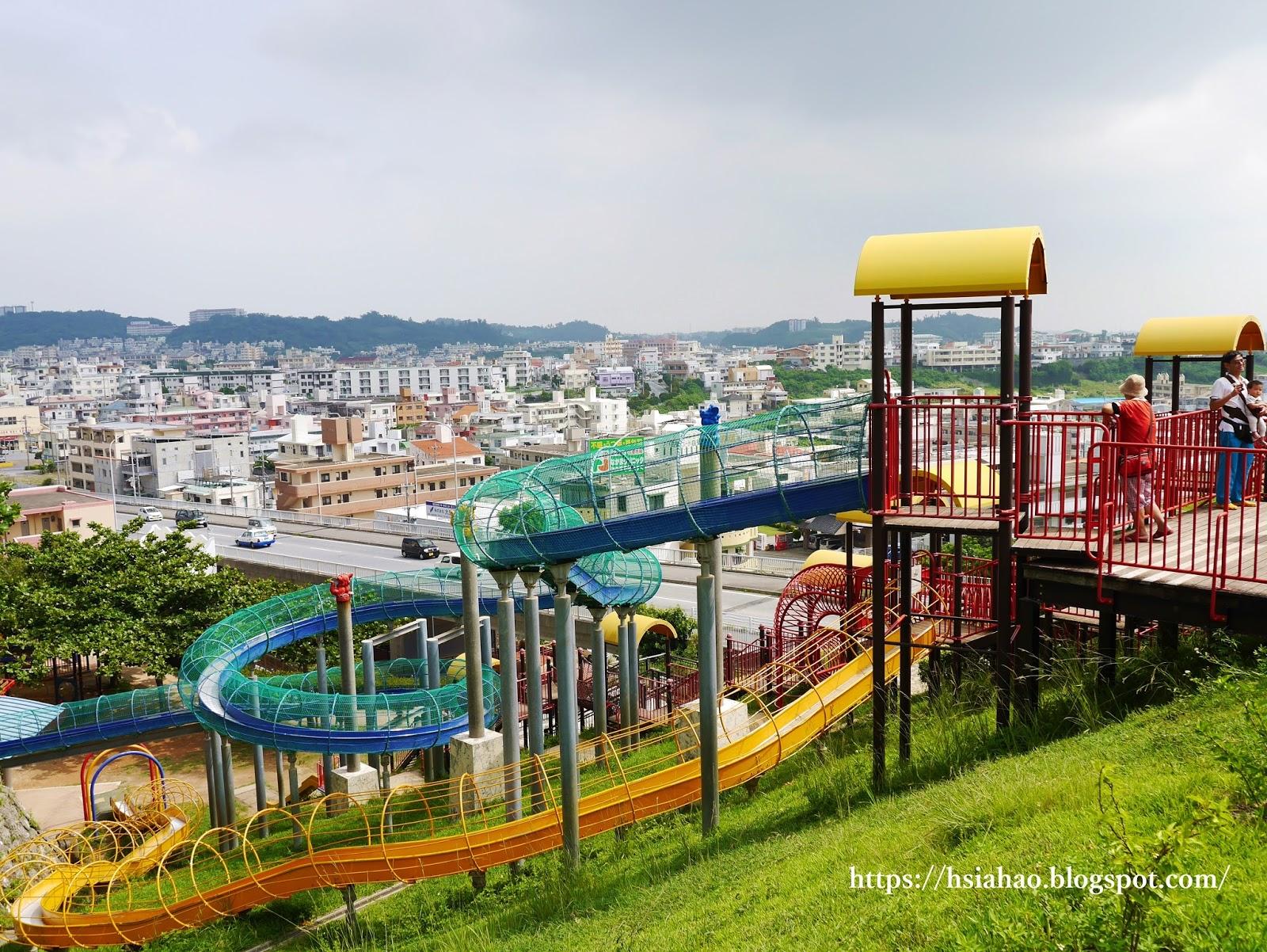 沖繩-那霸-景點-海軍壕公園-超長溜滑梯-浦添大公園-自由行-旅遊-Okinawa-Naha-kaigungou