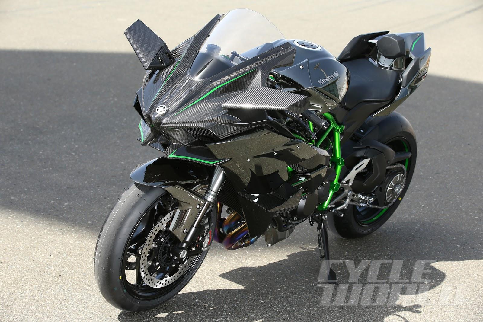 Kawasaki Ninja Hr Vs Ducati
