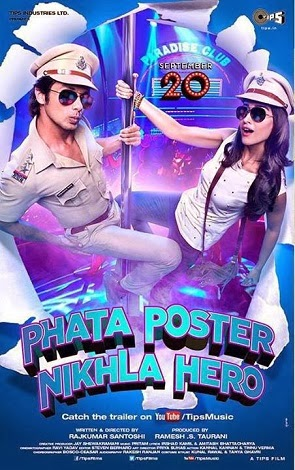Phata Poster Nikla Hero (2013) DVDScr 600MB - Direct Download Links or Watch Online