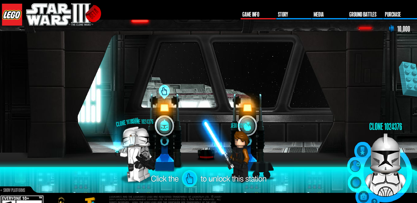 play game star wars the clone wars