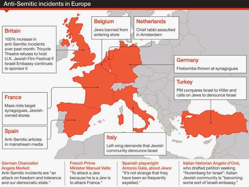 Antisemitism in Europe - Wikipedia