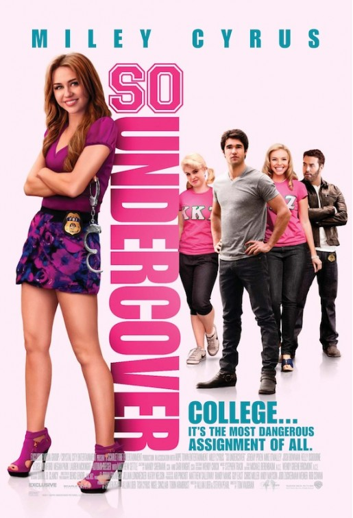 So Undercover 2012 - 'Official Poster'  (Miley Cyrus)
