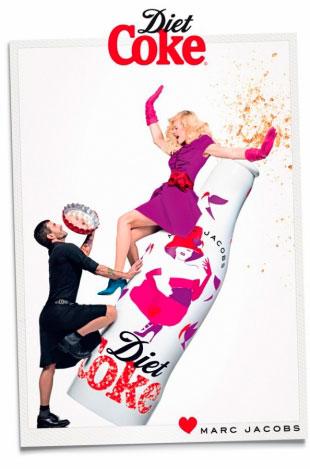 Marc Jacobs ha diseñado latas de Coca-Cola Diet