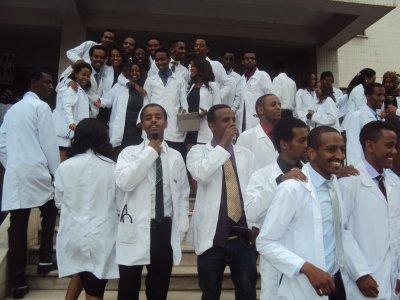 Learning Medicine in Addis Ababa University, Ethiopia