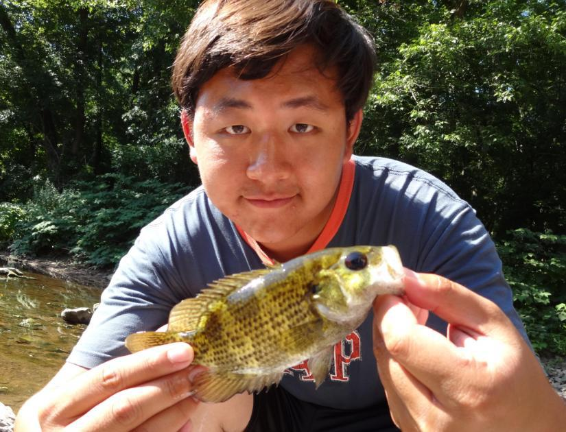 Extreme philly fishing december 2012 for Rock bass fish