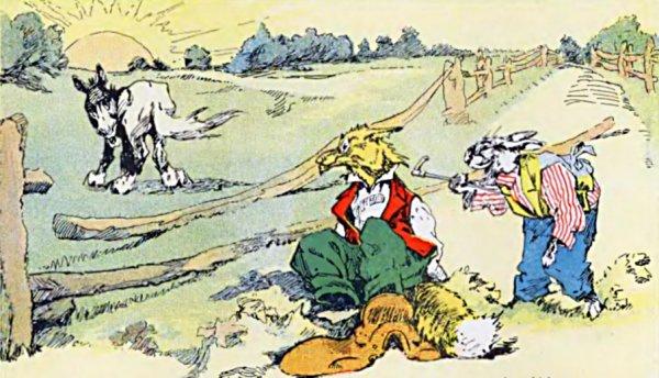 Brer Rabbit And Brer Lion Brer Rabbit Trickster Figure