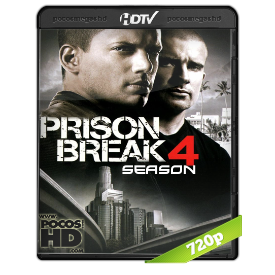 PRISON BREAK (TEMPORADA 4) BRRIP 720P AUDIO DUAL LATINO/INGLES