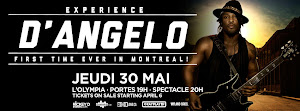 MAY 30TH | D'ANGELO | O'LYMPIA