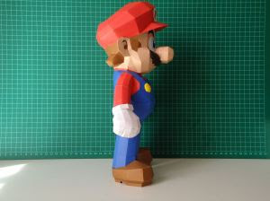Super Mario Papercraft - Nintendo-1