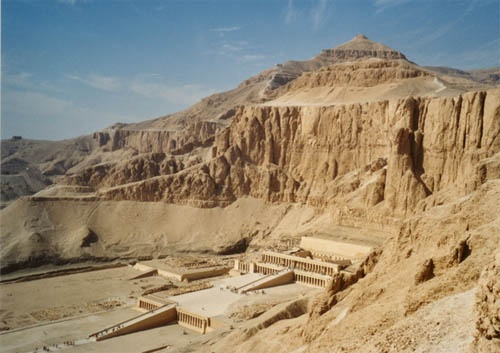 Arquitectura egipcia los hipogeos for Arquitectura de egipto