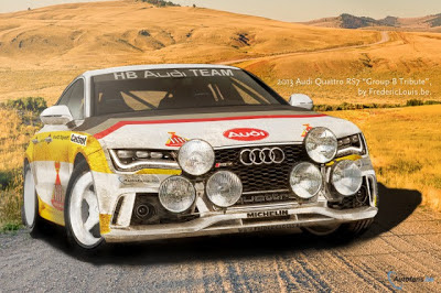 Render: Audi RS7 AMG Quattro Group B Racer