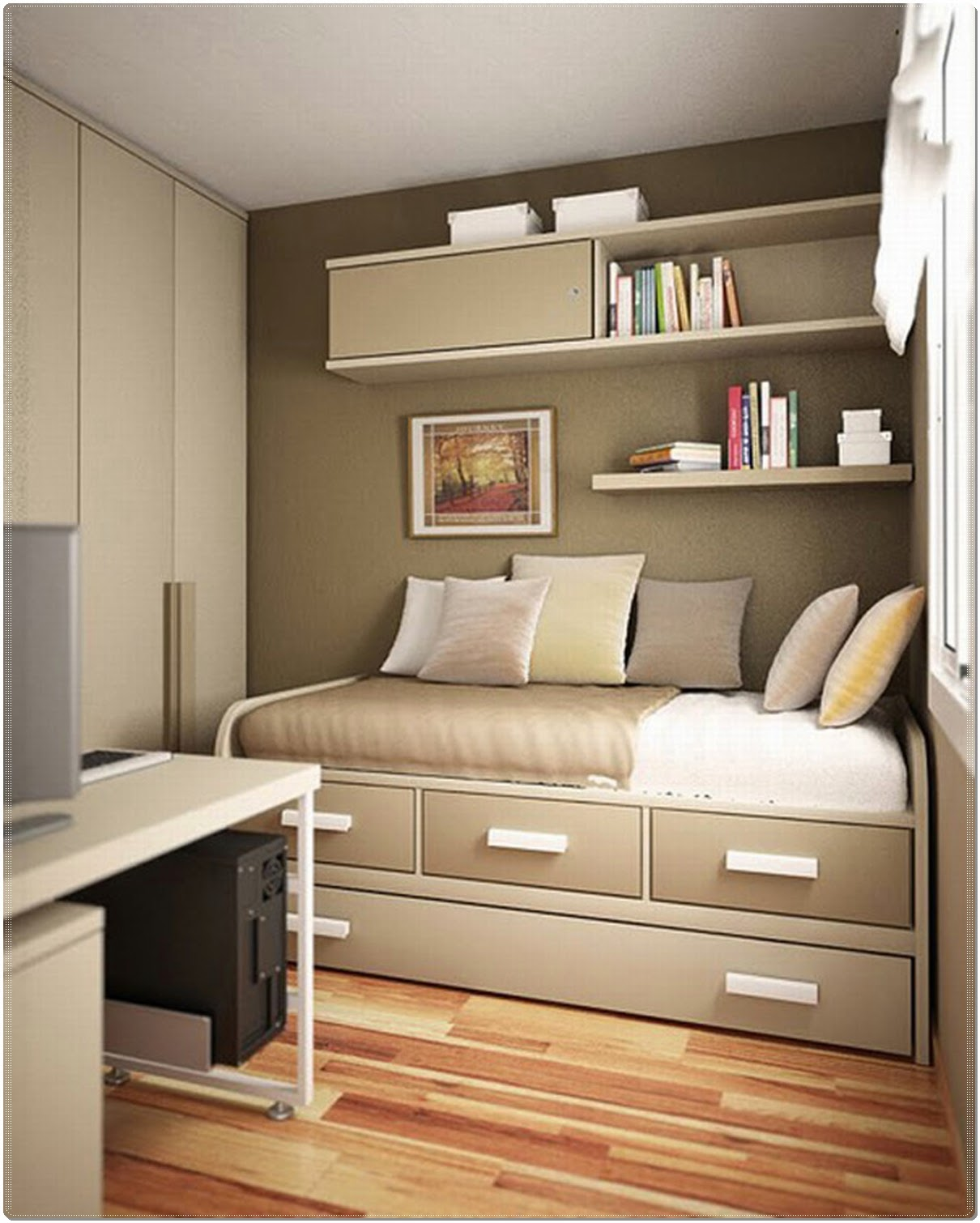 apartments simple grey bedroom idea charming small guest room office