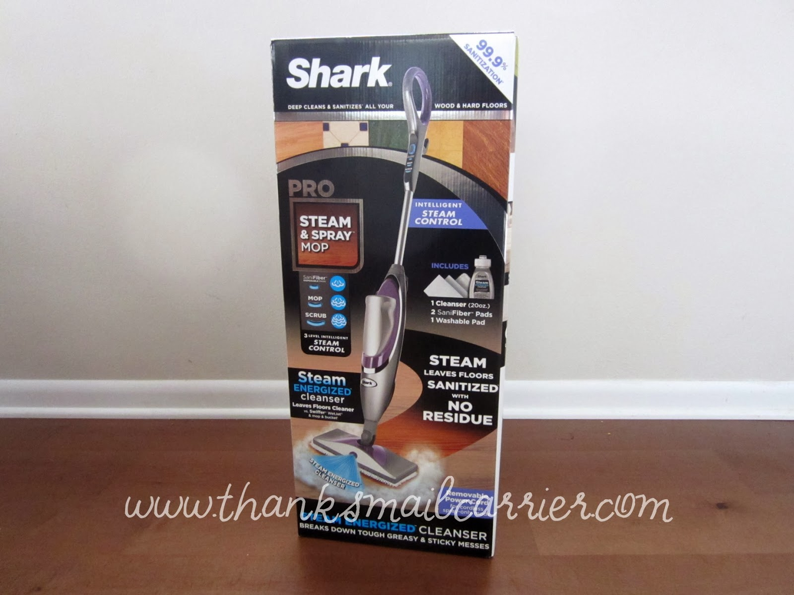 Shark spray mop
