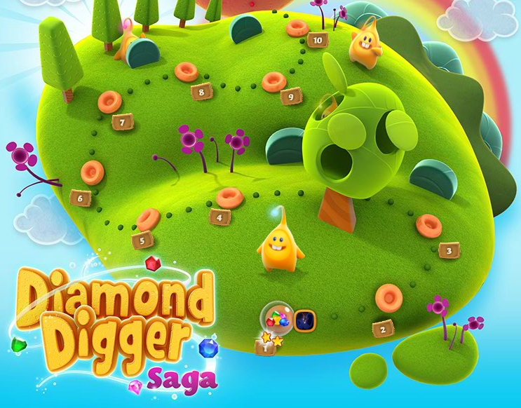 Soluzioni Diamond Digger Saga - Walkthrough Guide