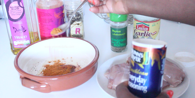 dunn's river All Purpose Seasoning for Healthy Baked Chicken
