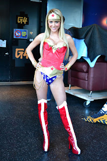 Sara Jean Underwood as Wonder Woman #2