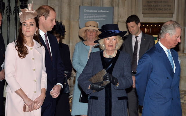 Kate Middleton attends Westminster Abbey Service
