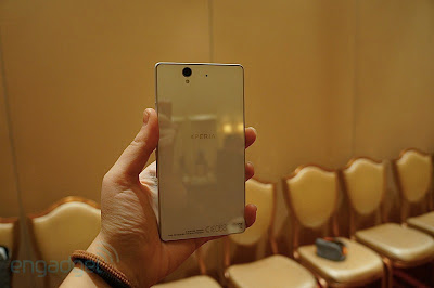 Sony Xperia Z en color blanco