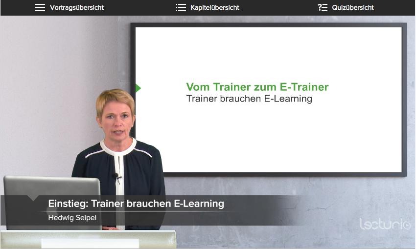Vom Präsenztrainer zum eTrainer