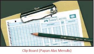 Clip Board (Papan Alas Menulis)