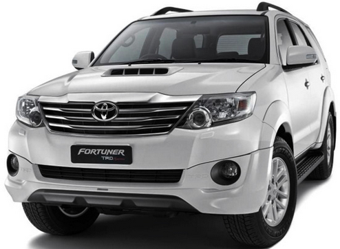 2015 Toyota Fortuner Spare Parts Prices