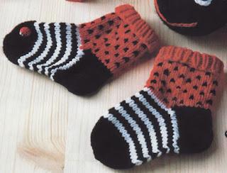 Bebek Çorap Şeması