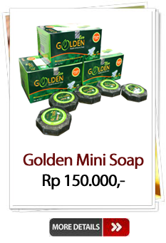 Jual Golden Mini Soap Murah